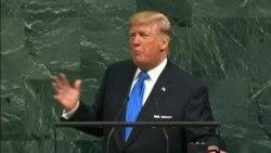 """Koreya ya ruguru dushobora kuyisenya,"" Perezida Trump muri ONU"