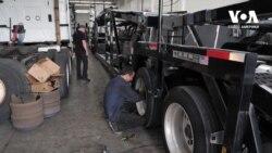 Як українець заснував майстерню з ремонту вантажівок у США. Відео