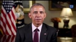 奥巴马感恩节发视频祝福