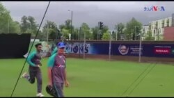 پاکستان کرکٹ ٹیم کی برطانیہ میں نٹ پریکٹس