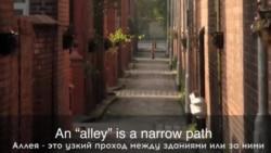 «Английский за минуту»: Up One's Alley
