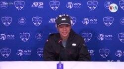 Jwè tenis Naomi Osaka deklare l ap bay viktim tranblemann tè a prim pwochen tounwa tenis la