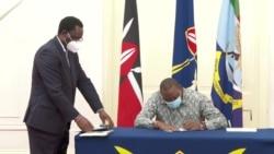Kenyatta aagiza ushuru kurejeshwa kuwa asilimia 16