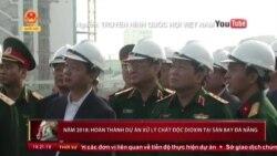 Hai Bộ trưởng kiểm tra dự án xử lý dioxin tại Đà Nẵng