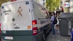 """Furgón policial donde estaría Hugo """"El Pollo"""" Carvajal"""