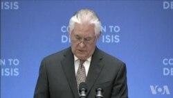 蒂勒森与土耳其及北约会议重点谈反恐