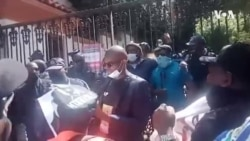 Mthwakazi Republic Party Stages Peaceful Protest Outside Zimbabwe Embassy in South Africa