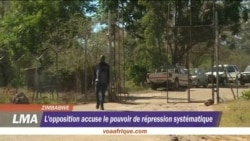 L'oppostinon zimbabwéenne accuse le pouvior de répression systematique