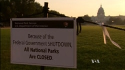 US Government Shutdown Enters Day Three