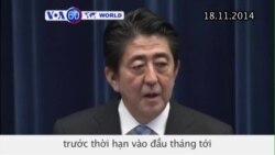 Thủ tướng Shinzo Abe sẽ giải tán quốc hội (VOA60)