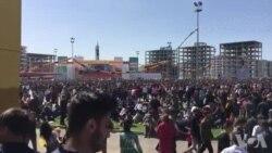 Dîmeneke Kurt ji Newroza Amedê