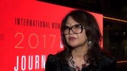 Сания Тойкен: «В Казахстане не только женщинам-журналистам, а всем журналистам очень сложно»