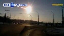 Thiên thạch rơi ở Nga làm 500 người bị thương (VOA60)