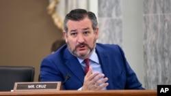 ABD'li Cumhuriyetçi Senatör Ted Cruz