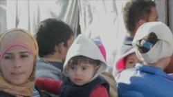 寒冬加剧黎境内叙利亚难民困境