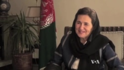 Afghan First Lady Pledges No Roll Back on Women's Rights
