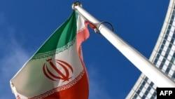 ফাইল ফটো : আন্তর্জাতিক আনবিক কমিশনের বাইরে ইরানের জাতীয় পতাকা