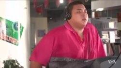 英文视频:世界肥胖和超重儿童人数剧增