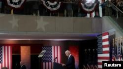 Presidenti Joe Biden duke folur në Filadelfia (13 korrik 2021)