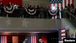 Rais wa Marekani Joe Biden akieleza hatua za kulinda haki ya kupiga kura katika hotuba yake kwenye Kituo cha Taifa cha Katiba,aiPhiladelphia, Pennsylvania, July 13, 2021.