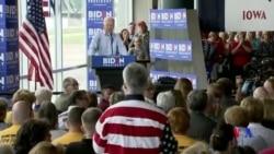 特朗普和拜登同天抵達愛奧華州競選