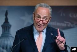 Senator Demokrat, Chuck Schumer di Gedung Capitol, Washington, D.C. (Foto: dok).
