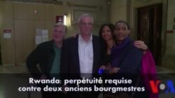 Perpétuité requise contre deux anciens bourgmestres rwandais