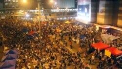 香港占中运动的后勤保障