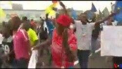 Manifestation à Kinshasa contre une prolongation éventuelle du mandat de J.Kabila après 2016 (vidéo)