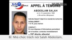 Nghi can vụ tấn công khủng bố Paris đã bị bắt (VOA60)