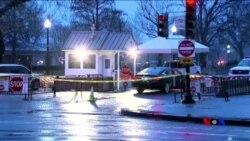 一名男子駕車到白宮 稱車上有炸彈被捕 (粵語)