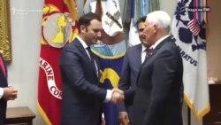 Џозеф ја поздрави средбата на Заев и Пенс