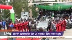 Buhari entame son 2e mandat dans la sobriété