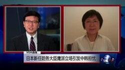 VOA连线:日本新任防务大臣鹰派立场引发中韩担忧