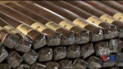Що можна очікувати від американського ринку високоякісних сигар після зняття економічного ембарго у Кубі. Відео