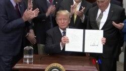 2017-12-12 美國之音視頻新聞: 川普總統下令恢復美國載人太空飛行計劃
