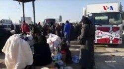 Halep'te Tahliyeler Devam Ediyor
