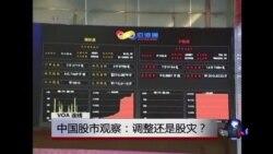 VOA连线:中国股市观察:调整还是股灾?