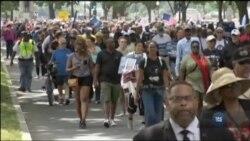 Сотні священиків та вірян пройшли маршем у Вашингтоні, аби закликати націю до толерантності та справедливості. Відео