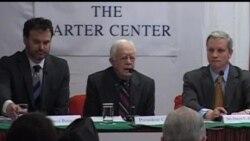 2013-04-02 美國之音視頻新聞: 卡特呼籲中國不要因流亡藏人向尼泊爾施壓