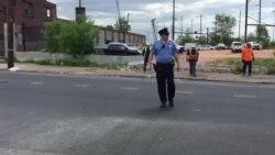 VOA en la escena de accidente ferroviario en Filadelfia