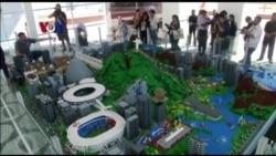 Miniatur Kota Rio di Olimpiade dari Lego