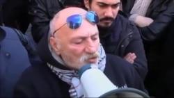 اعتراض مردان ترکيه به تجاوز و قتل يک دانشجو