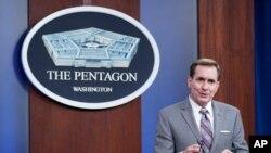 존 커비 미국 국방부 대변인.