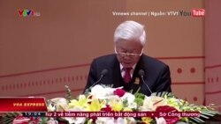Ông Nguyễn Phú Trọng kêu gọi 'đề kháng' trước thế lực thù địch