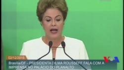 Dilma Rousseff reage a autorização de pedido de impeachment