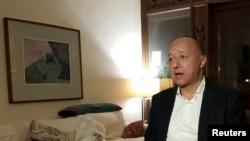 Gasser Abdel Razek, director executivo da Iniciativa Egípcia pelos Direitos Pessoais