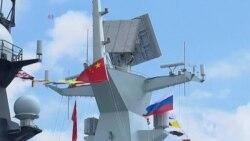 中俄军演联手抗衡美国?