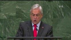 """Presidente de Chile: """"Venezuela es una sociedad asolada"""""""