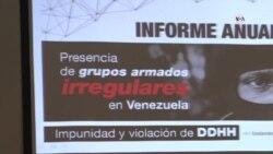 Aumentan los grupos irregulares en Venezuela